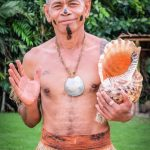 Traditional Fijian Dancer