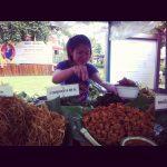 Smażone Kwiaty I Warzywa