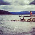 Samotnie Nad Tasmańskim Jeziorem