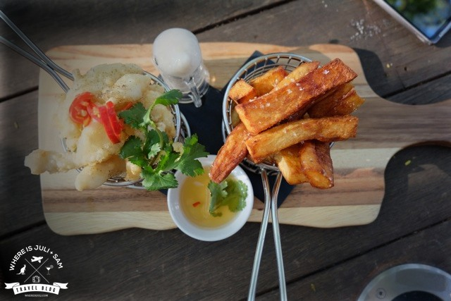Calamaries & Chips