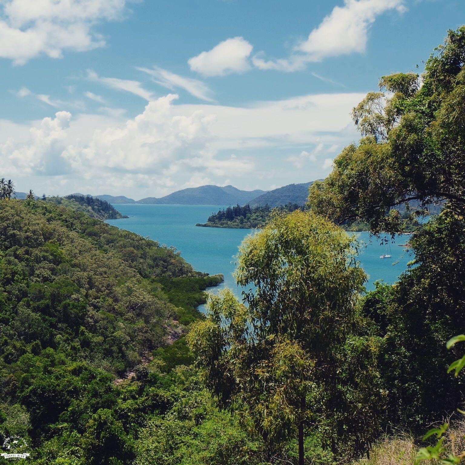 widok na Whitsundays