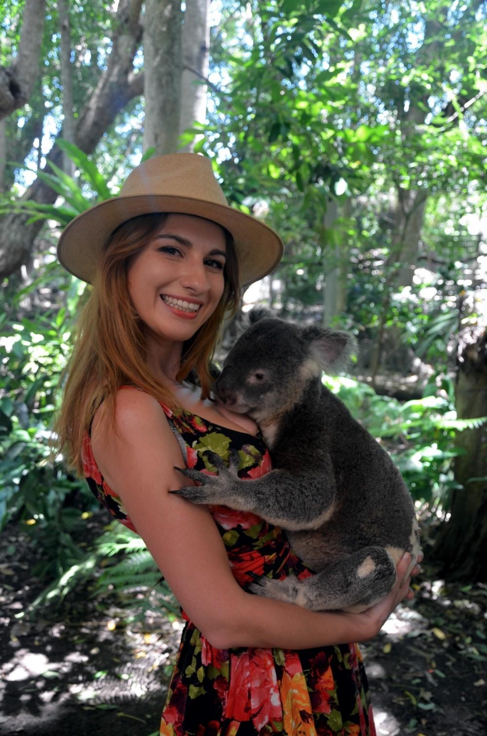 Ania w Lone Pine Koala Sanctuary