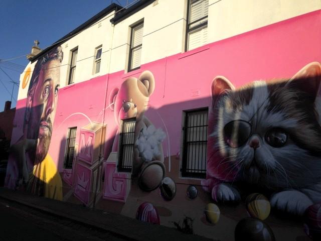 Melbourne mural