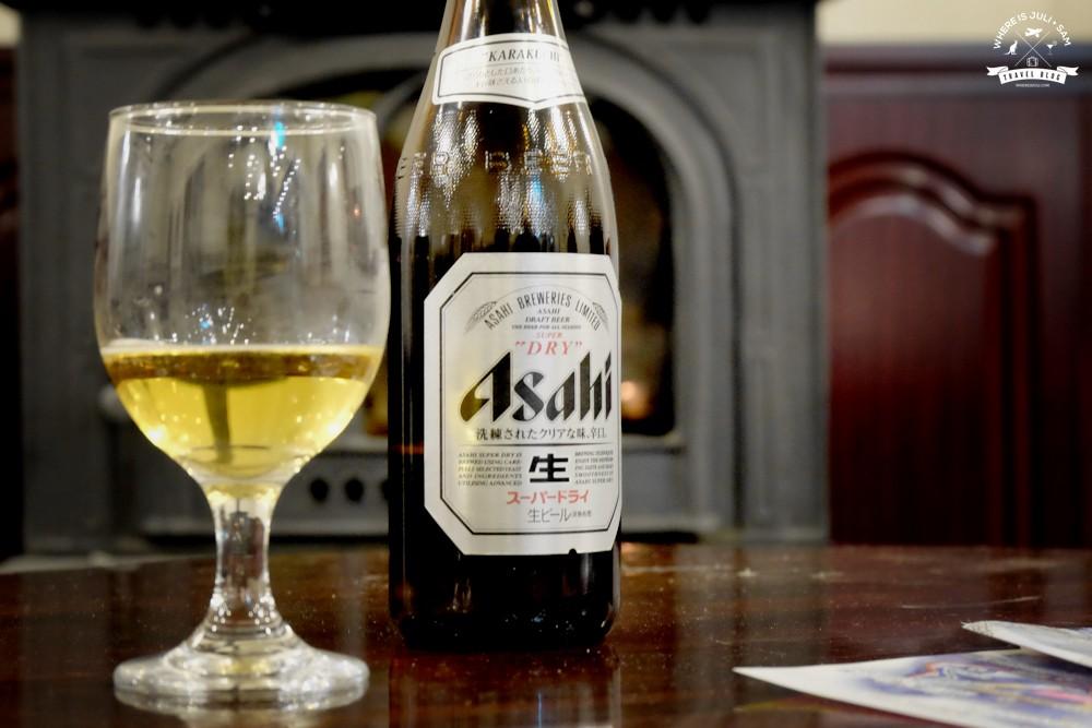 piwo przy kominku High Mount Hotel