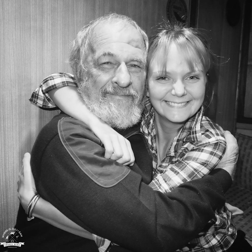 Jerzy Radomski i Julia Raczko