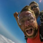 Skydive At The Beach