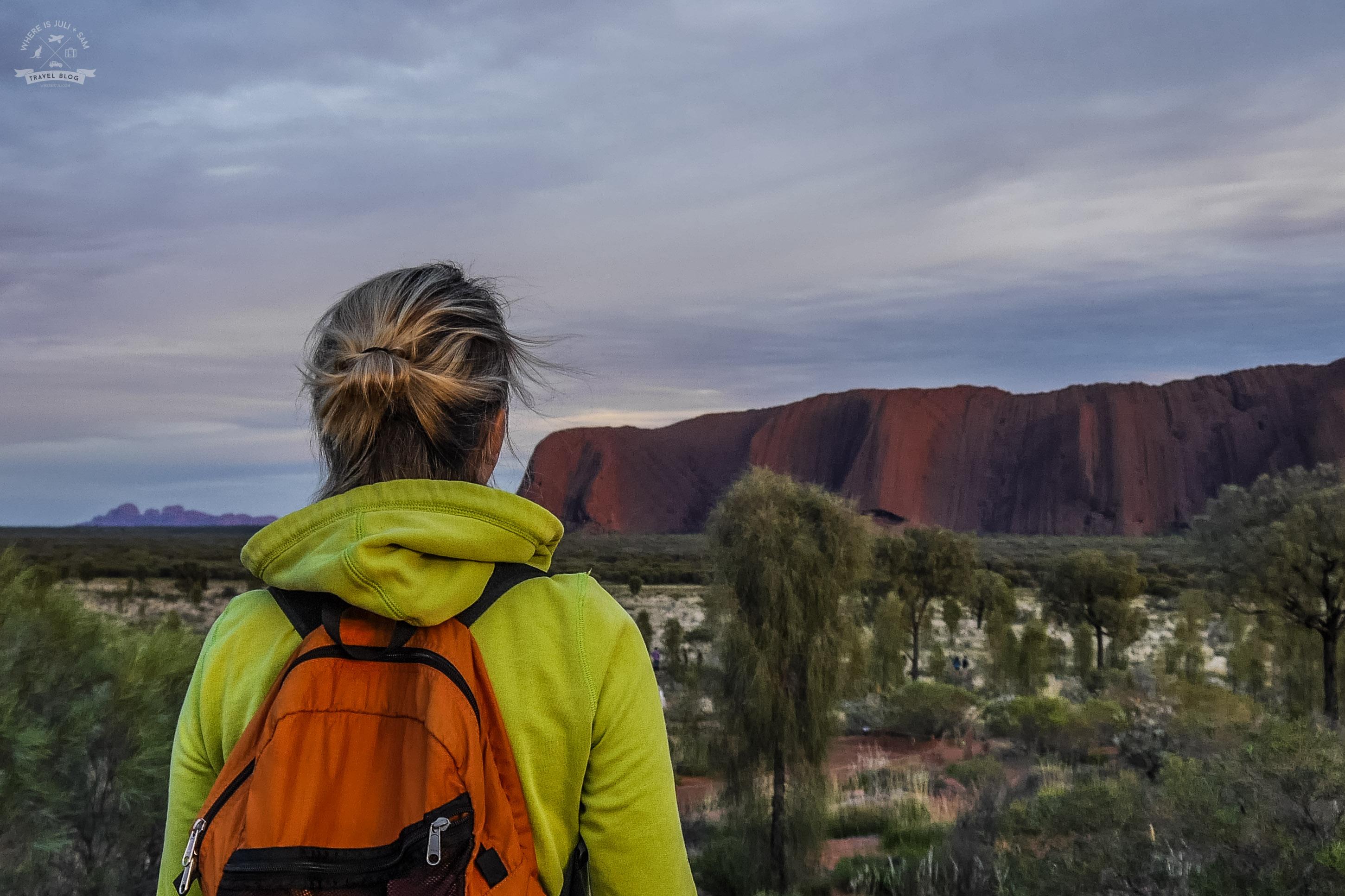 Uluru hipnotyzuje