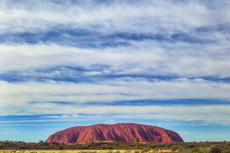 Uluru za dnia