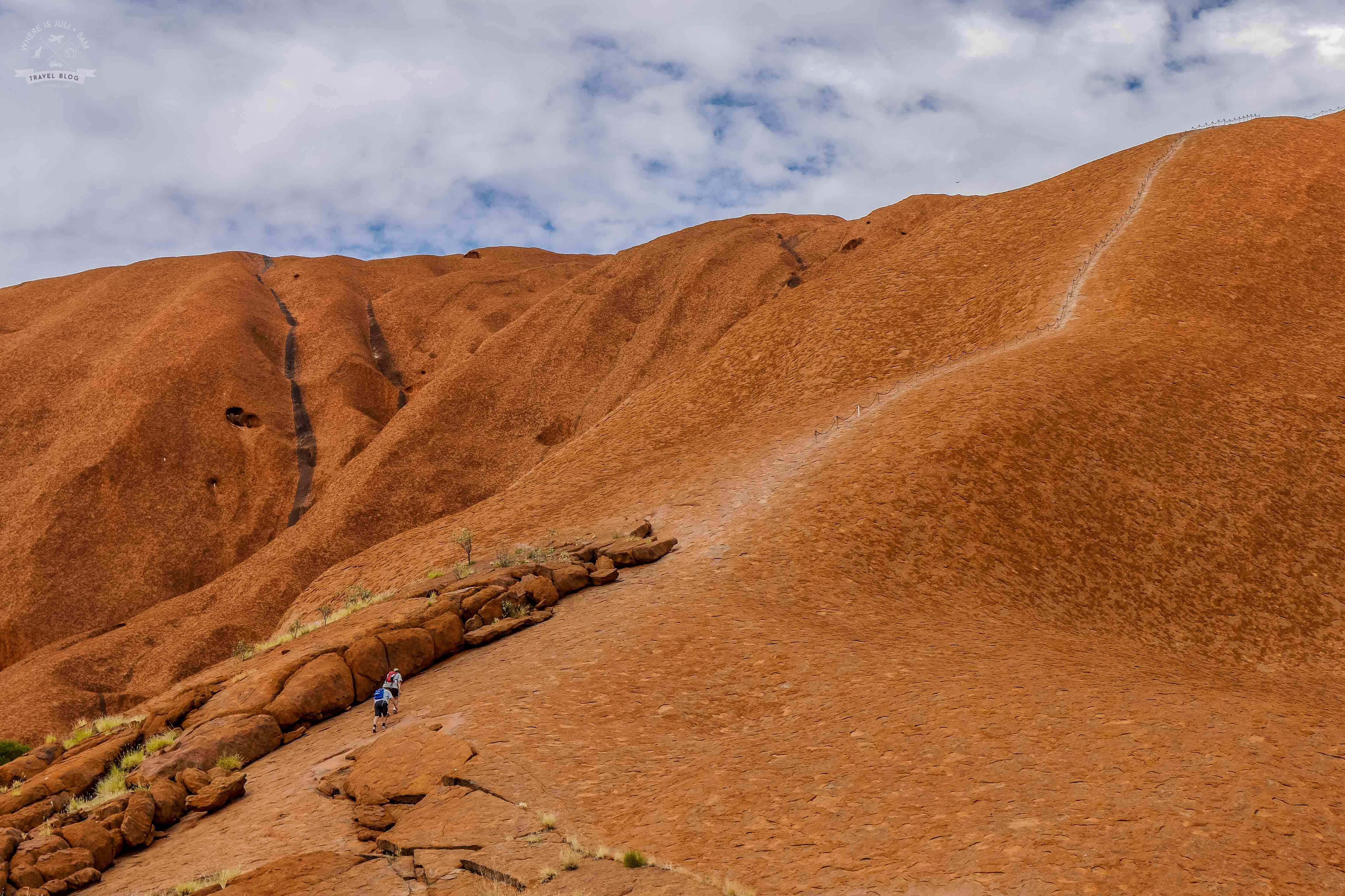 Wspinaczka na Uluru