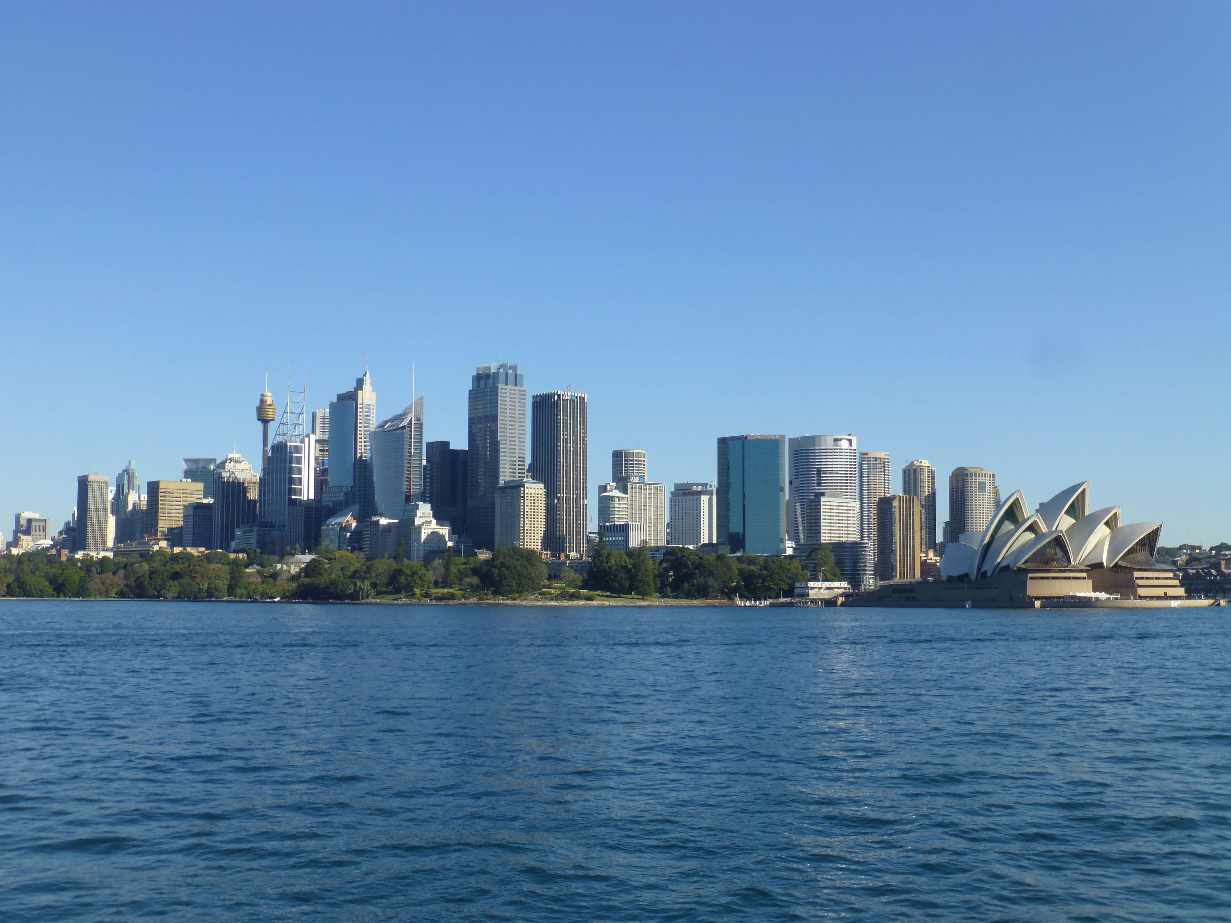 Zlap trop widok na Sydney