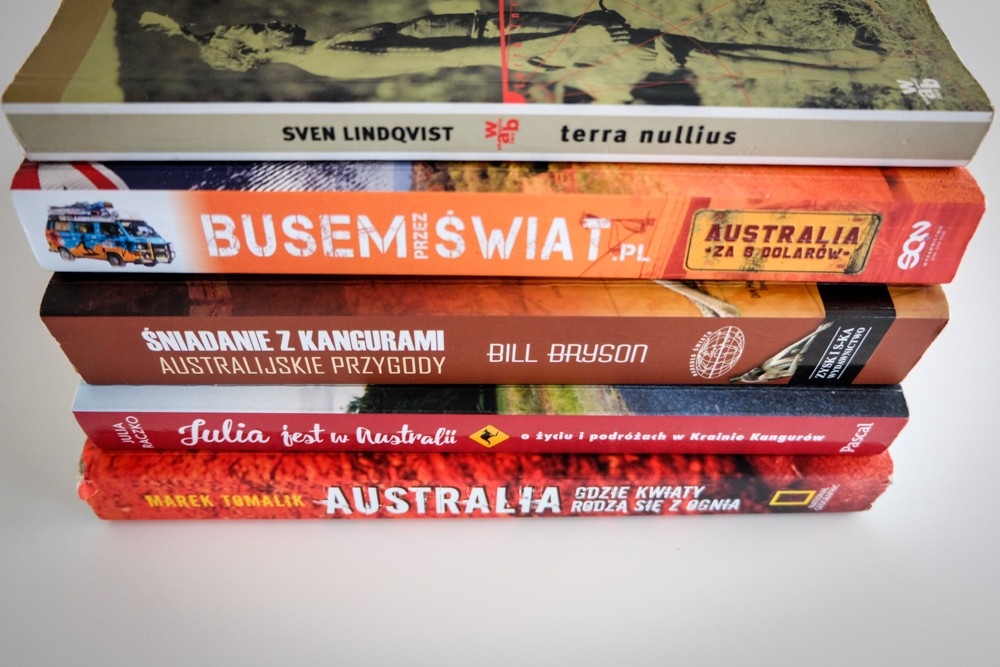 ? Książki o Australii, które warto przeczytać