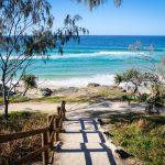 Trasa Sydney Brisbane Stradie Wejście Na Plażę