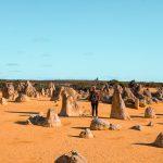 Pustynia Pinnacles Australia Zachodnia
