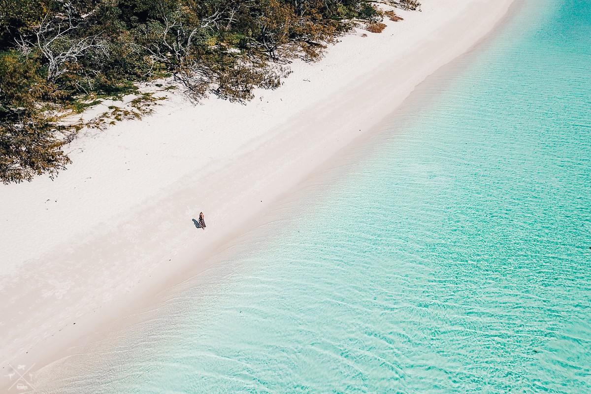 Wyspa Heron Island. W przerwie od pustkowi
