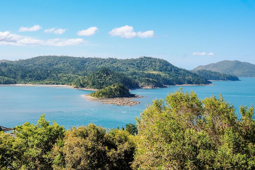 Wyspa Hamilton Island Pne Tree Hill Widok
