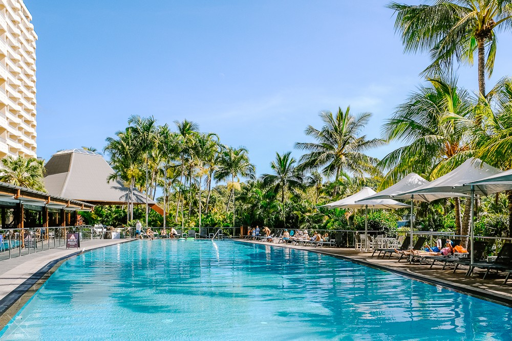 Wyspa Hamilton Island Basen Reef View Hotel
